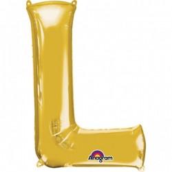 """Folinis balionas raidė """"L"""""""