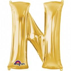 """Folinis balionas raidė """"N"""""""