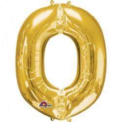 """Folinis balionas raidė """"O"""""""