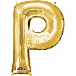 """Folinis balionas raidė """"P"""""""
