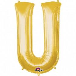 """Folinis balionas raidė """"U"""""""