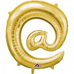 """Folinis balionas simbolis """"@"""""""