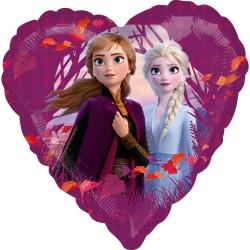 "Folinis balionas ""Frozen"" / širdis"