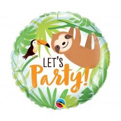 "Folinis balionas ""Let's party""/Tinginys"