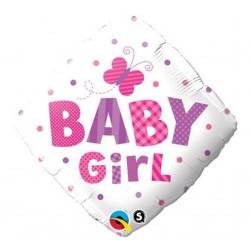 """Folinis balionas """"Baby girl""""/rombas"""