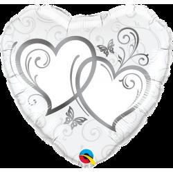 """Folinis balionas """"Sidabrinės širdys"""""""