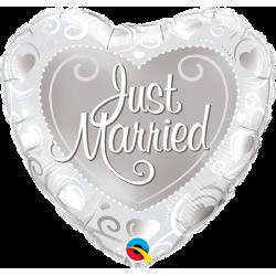"Folinis balionas ""Just married"""