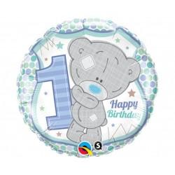 """Fol. balionas """"Happy Birthday meškutis"""