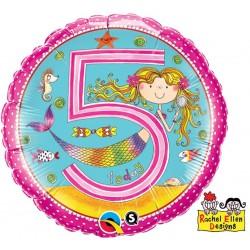 """Folinis balionas """"Undinėlė - 5"""""""