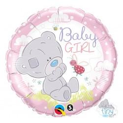 """Folinis balionas """"Baby girl""""/rožinis"""