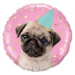 """Folinis balionas """"Gimtadienio šuniukas"""""""