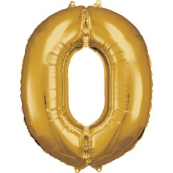 """Folinis balionas """"Skaičius 0 """""""