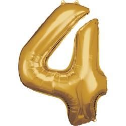 """Folinis balionas """"Skaičius 4"""""""