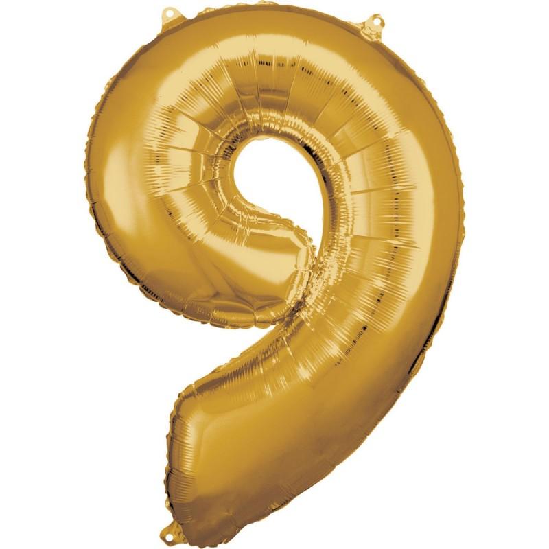 """Folinis balionas """"Skaičius """"9"""""""