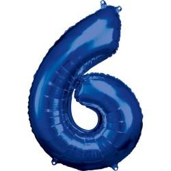 """Folinis balionas """"Skaičius 6"""""""